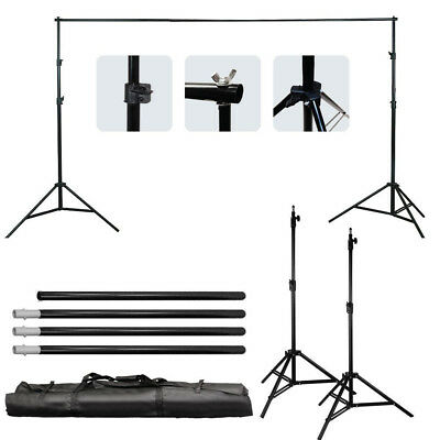Photography Studio Adjustable Background Support Stand Photo Crossbar Studio Kit