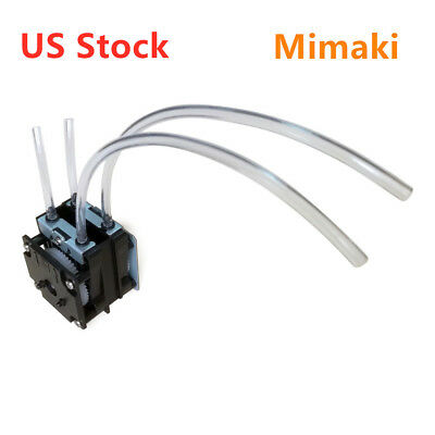 Us Stock He Parts Improved Mimaki Cjv Solvent Resistant Ink Pump With 35cm Tube