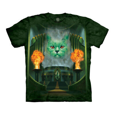 The Mountain Cat Great And The Powerful Wizard Of Oz Emerald City Adult T-Shirt Adult Groovy Shirt