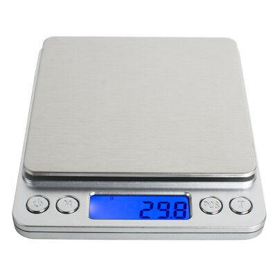 【USA】3000g x 0.1g Digital LCD Display Jewelry Precision Scale w/ Piece Counting