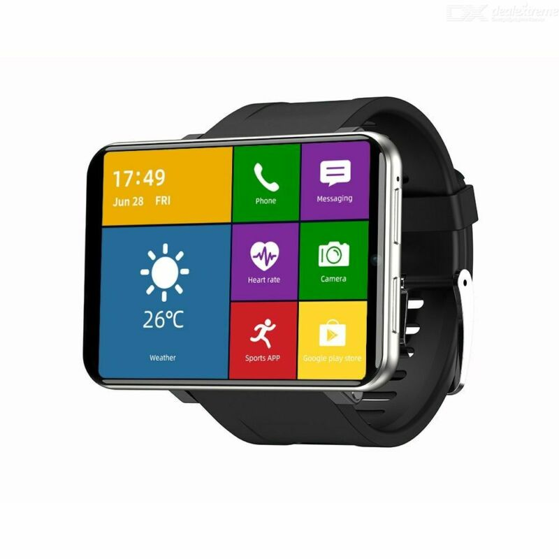 "TICWRIS MAX 3+32GB Smart Watch IP67 8.0MP Camera 2.86"" GPS Face ID Waterproof US"