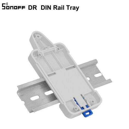 Sonoff DR DIN Rail Tray Mounted Case Holder Mount For Sonoff Sonoff TH10/16/G1