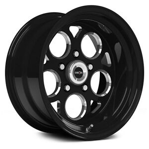 15X10 VISION SPORT MAG BLACK MAGNUM SSR DRAG RACING WHEEL 5X4.5 NO WELD 4.5