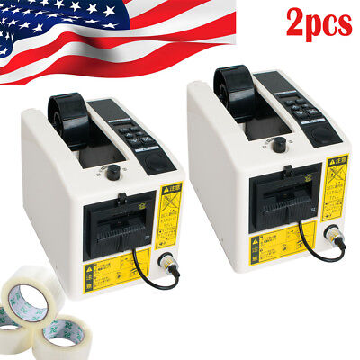 2pc Automatic Tape Dispensers Adhesive Tape Cutter Packaging Packing Machine Usa