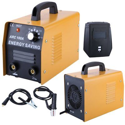 Welding Machine Commercial Mig Arc Dc 160a 230v Flux Core Welder Gas No Gas Ms