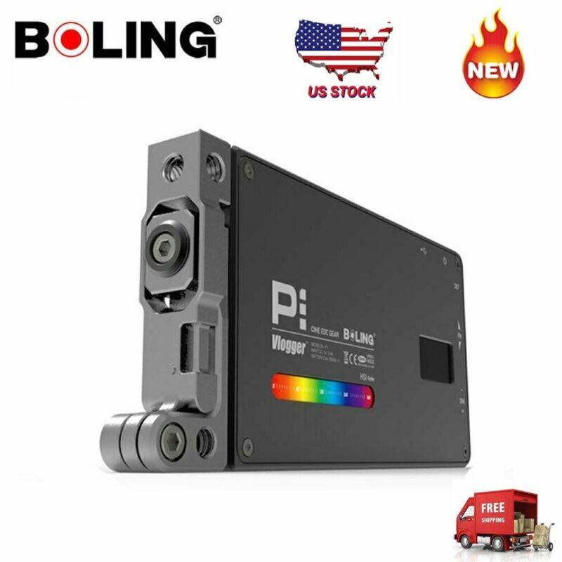 Boling P1 RGB Pocket LED Video Light 2500-8500K For Studio DSLR Camera Light US