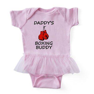 CafePress - Daddys Boxing Buddy - Baby Tutu Bodysuit