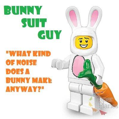 Bunny Suit Guy Maßgeschneidert Minifigur Passt Lego Toy P964