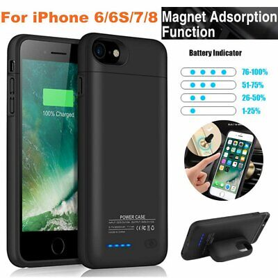 Protable Battery Charger Case Power Bank Charging Pack For iPhone 6s 7 8 Plus