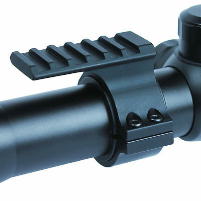"""25.4mm 1"""" Ring Scope Adapter 20mm Weaver Picatinny Rail Barrel Mount for Rifle"""