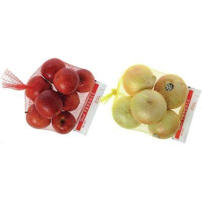 Produce Header Mesh Bags 3 Lb Red 12l X 16h 33018