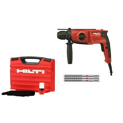 Hilti 120 Volt Sds Plus Hammer Drill Kit Corded Concrete Masonry Drilling Tool