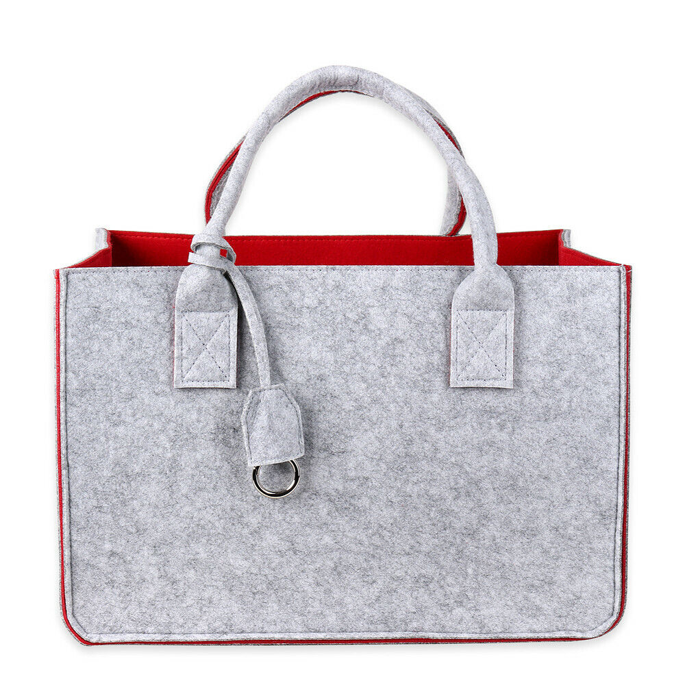 Schramm® Filztasche 4 Farben wählbar Kaminholztasche Einkaufstasche Shopping Bag