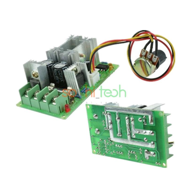 DC 10-60V 20A Universal 25KHz PWM RC Motor Speed Regulator Controller Switch