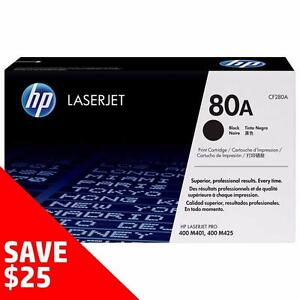 Buy Direct from HP and SAVE! - Original HP Toner 80A