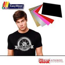 """Siser HTV EasyWeed Heat Transfer Vinyl 12 x 15"""" 6 Colors Starter BUNDLE COMBO 6"""