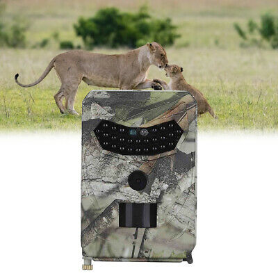 12MP Hunting Trail Camera HD 1080P Scouting PIR Night Vision Wildlife Farm Cam