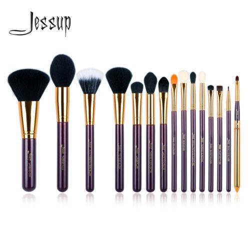 Jessup Best Makeup Brushes Set Powder Blush Concealer Blending Cosmetic 15/12Pcs