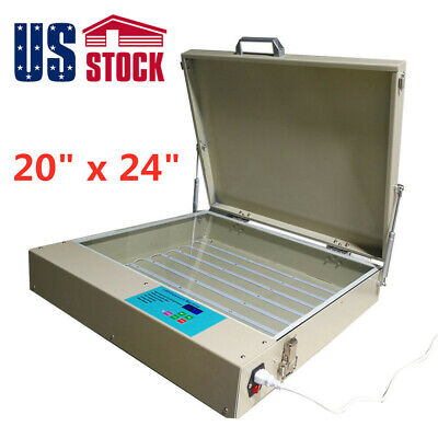 20 X 24 Silk Screen Led Uv Exposure Unit 80w 110v Tabletop Precise Machine