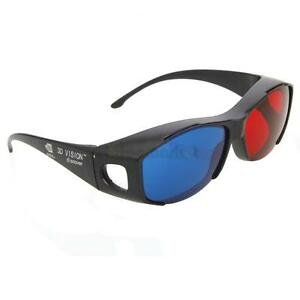 New-Red-Blue-3D-Glasses-Frame-For-Dimensional-Anaglyph-Movie-DVD-Game