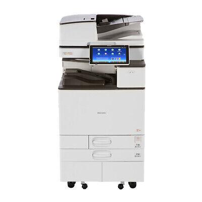 Ricoh Aficio Mp C6004 Color Printer Scanner Copier 60 Ppm Laser Tabloidledger