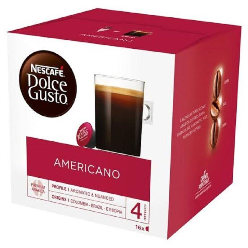 96 Count Nescafe Dolce Gusto Premium Arabica American Coffee Pods Intensity 4