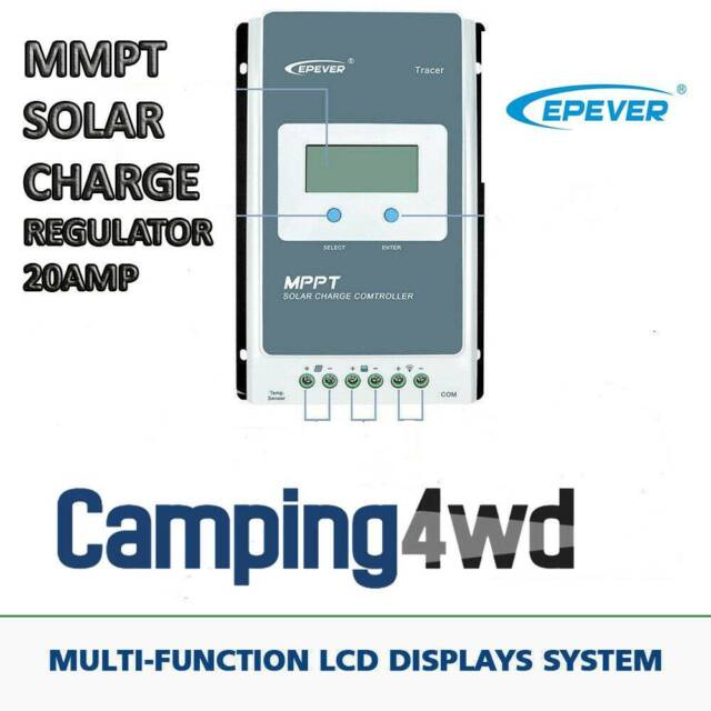 Epever MPPT Solar Charge Controller 12V/