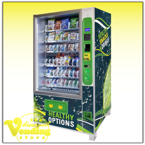 New DVS Duravend 5C Healthy Combo Vending Machine
