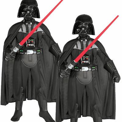 Kinder Darth Vader Deluxe Outfit Neu Kostüm Kostüm Star Wars Kinder - Darth Vader Deluxe Kostüm Kinder
