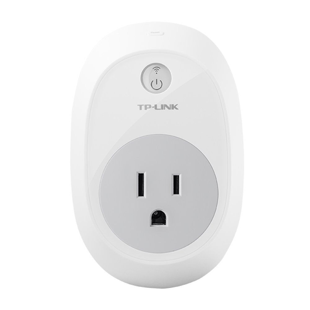 TP-Link Smart Plug, No Hub Required, Wi-Fi, Works with Amazon Alexa (HS100)