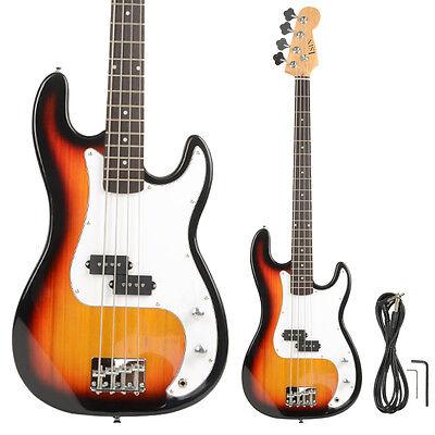 New Brand Golden 4-String Electric Bass Guitar