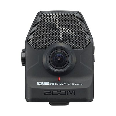 New Zoom Q2n Handy HD Video Audio Recorder Built-In XY Mic F2.0 lens From Japan