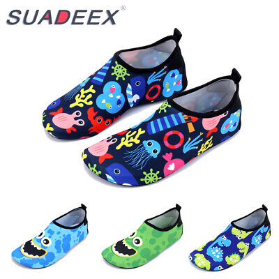 Kids Baby Toddler Quick-Dry Water Shoes Summer Beach Surfing Swimming Socks - Dinosaurs Shoes