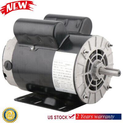 Electric Air Compressor Duty Motor 56 Frame 58 Shaft 1phase 3hp Fla 3450rpm