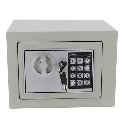 9 Inch Digital Electronic Safe Box Keypad Lock Home Office Jewelry Cash Money
