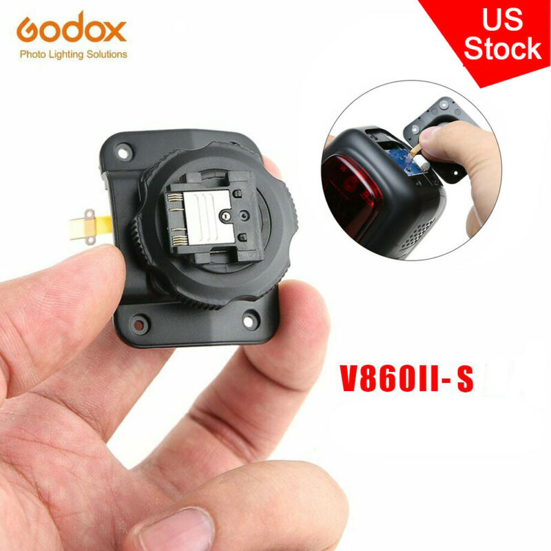 US Flash Replacement Godox Hot Shoe mounting foot for Godox V860II-S Speedlight