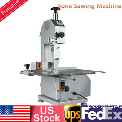 650w Electric Bone Saw Machine Frozen Meat Frozen Fish Steak Cutting Machine Usa