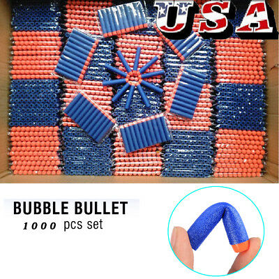 1200 Pcs Refill Bullet Darts for Nerf N-strike Elite Series Blasters Kids Toy US