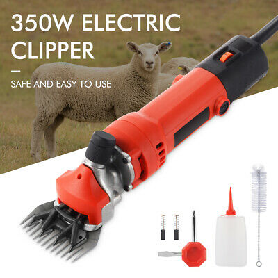 350w Electric Farm Supplies Sheep Goat Shears Animal Shearing Grooming Clipper