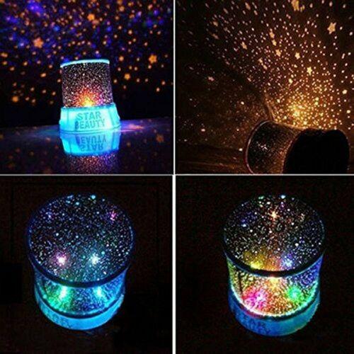 romantic led starry night sky projector lamp