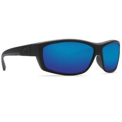 6495e0ec9f Costa Del Mar SaltBreak Polarized Sunglasses 580G Matte Blackout Blue Glass  NB