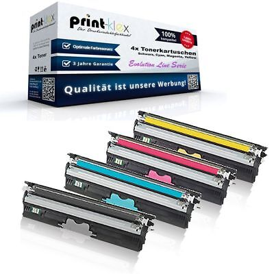 1690mf Drucker (4x Super XL Toner für Konica Minolta Magicolor-1690-mf Toner Evolution Line)