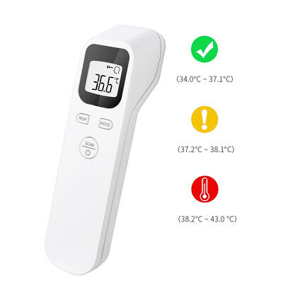 Digital Temperature Gun Non-contact Infrared Forehead Thermometer