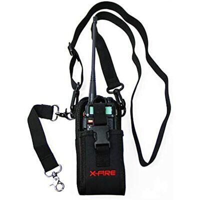 X-fire Radio Strap Firefighter Washable Ems Emt Shoulder Holder Duty Belt Combo