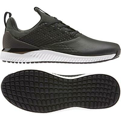 adidas Adicross Bounce 2.0 Spikeless Textile Golf Shoes (Legend Earth/Black)