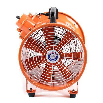 10 Atex Explosion Proof Axial Fan Ducting Extractor Fan Blower Exhaust Fan