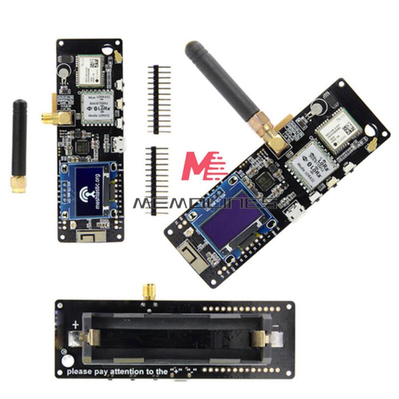 Esp32 433/868/915/923mhz Wifi Bluetooth Esp32 Gps Neo-6m T-beam With Oled New