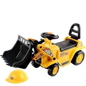 Ride On Bulldozer - Yellow