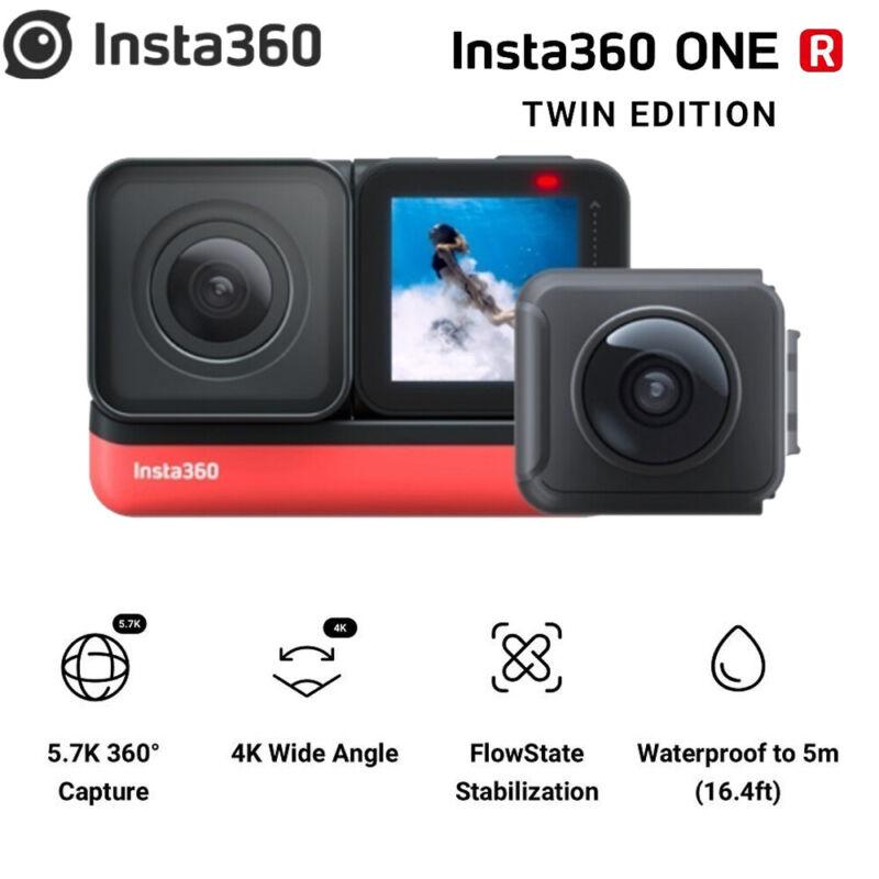 New Insta360 ONE R sports Action Camera 5.7K 360 4K waterproof video Camera