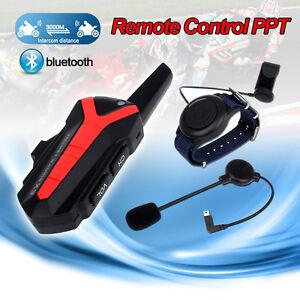 BLUETOOTH-MULTI-CASCO-DA-MOTO-INTERFONO-Radio-serie-sterzo-X3-Plus-PTT